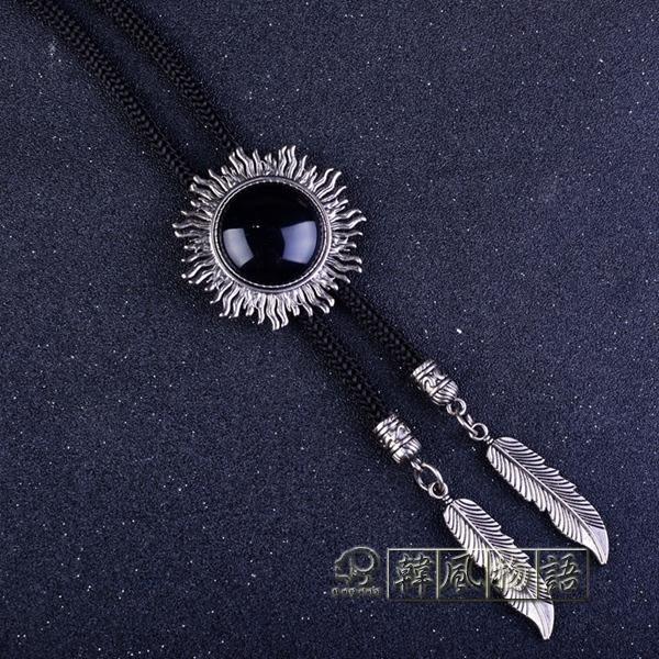 飾品潮男水晶寶石波洛領帶領結「韓風物語」