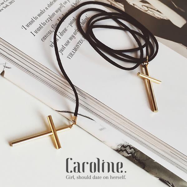 《Caroline》★韓風優雅時尚品味典雅設計長項鍊68997
