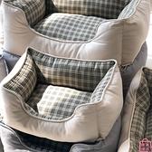 寵物窩方形窩寵物墊子四季通用保暖寵物床【匯美優品】