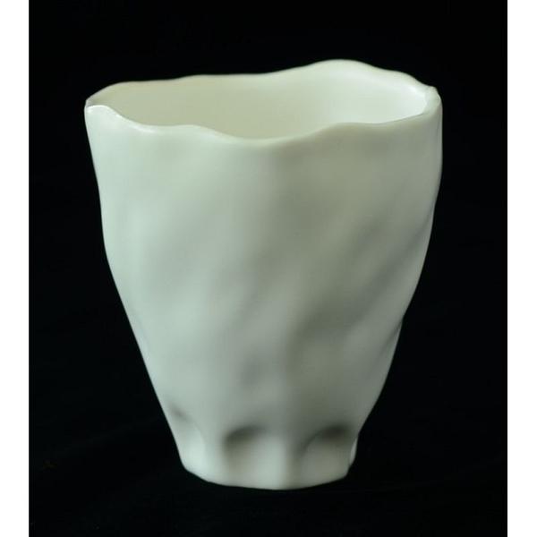 綻放│Blooming-白瓷杯