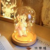 現代小夜燈插電床頭燈創意夢幻喂奶