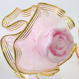 婚禮小物 20枝玫瑰香皂金莎棒-送客禮/活動禮/姊妹禮/二次進場 幸福朵朵