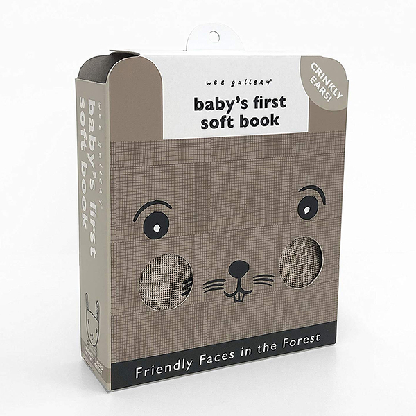 Friendly Faces In The Forest:Baby's First Soft Book 森林動物布書