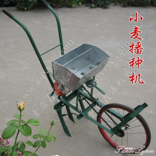 小麥播種機手推扶式大豆藥材蔬菜草籽多功能機農業機械 HM 范思蓮思