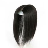 假髮片(真髮絲)-隱形透氣頭頂補髮女假髮2色73uf5【時尚巴黎】
