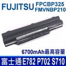 FUJITSU FMVNBP210 6芯 . 電池 FPCBP281 FPCBP281AP FPCBP282 FPCBP325 FMVNBP210 FMVNBP190 FMVNBP198
