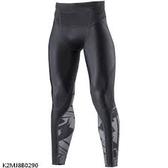 MIZUNO 男裝 長褲 緊身 慢跑 運動 BG 5000 II 抗紫外線 吸汗 快乾 黑【運動世界】K2MJ8B0290
