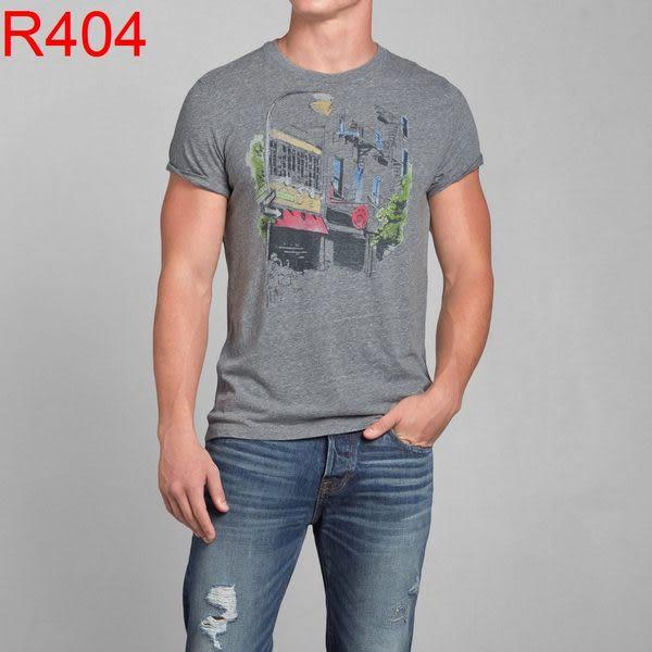 AF Abercrombie & Fitch A&F A & F 男 當季最新現貨 T-Shirt AF R404