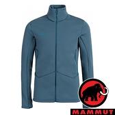 【MAMMUT 長毛象】Aconcagua 男 防風保暖立領外套『50227 水鴨藍』1014-02450 外套 冬季 保暖 禦寒