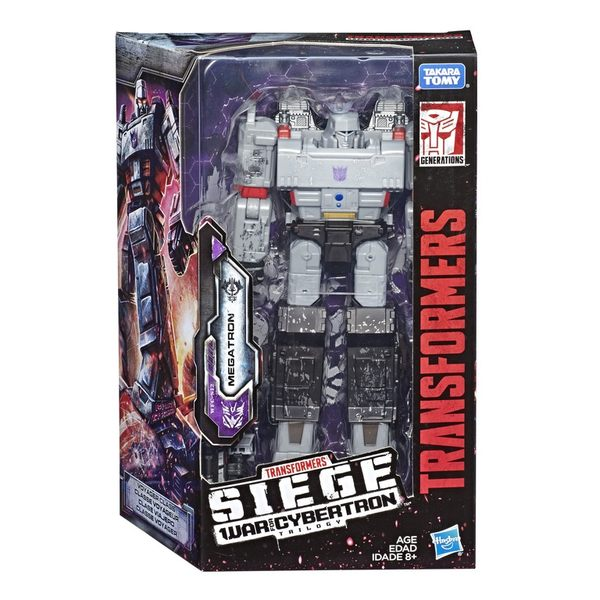 9-10月特價 變形金剛塞博坦之戰WFC 圍城Siege Vayage巡弋戰將 Megatron密卡登 狂派 TOYeGO 玩具e哥