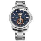 SEIKO 精工 / 7D56-0AH0B.SNP163J1 / Premier 人動電能 萬年曆 藍寶石水晶玻璃 不鏽鋼手錶 藍色 42mm