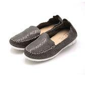WALKING ZONE 高質感皮革休閒鞋 女鞋-灰(另有粉、藍)
