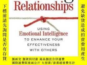 二手書博民逛書店Working罕見Relationships: Using Emotional Intelligence To E
