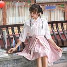 新款夏裝漢服女中國風漢元素改良日常斜襟短...