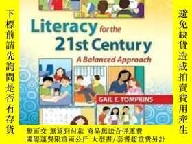 二手書博民逛書店Literacy罕見For The 21st Century: A Balanced Approach (6th