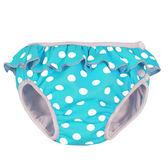 [衣林時尚] 瑞典 Imse Vimse 游泳尿布 兒童泳褲 粉藍點點