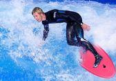 專業沖浪板成人滑水板趴板兒童游泳浮板加厚夾腿打水板站立滑浪板  橙子