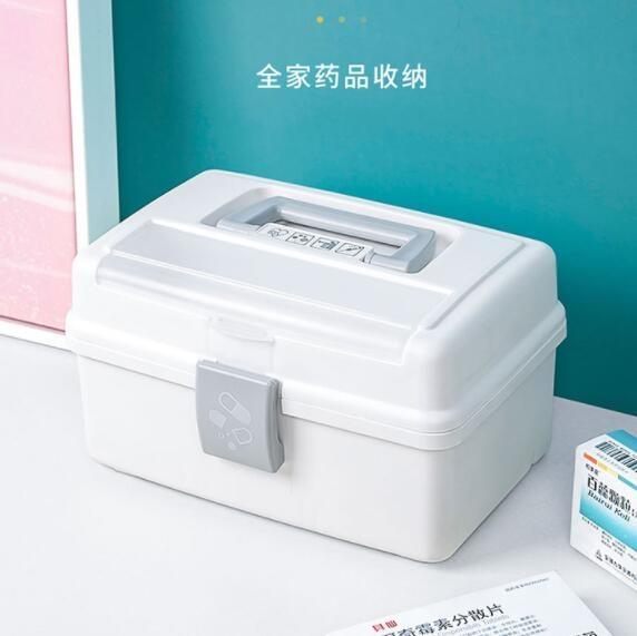 愛麗思藥箱家庭裝兒童醫療箱全套藥物收納盒小醫用箱應急大號家用魔方數碼