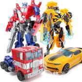 變形玩具金剛5 電影正版4 兒童男孩大黃蜂恐龍汽車機器人手辦模型