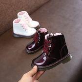 靴子 寶寶靴子1-3歲鞋女兒童春秋單靴5女童馬丁靴男童英倫風小公主短靴 雙11狂歡購物節