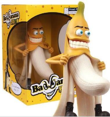 邪惡的香蕉人邪惡版猥瑣版壞香蕉先生手辦模型
