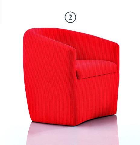 【南洋風休閒傢俱】沙發系列-華爾滋布休閒單人沙發  餐椅 咖啡廳休閒椅 JX157-2-3