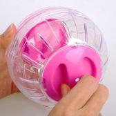 倉鼠球金絲熊水晶跑球滾球輪子滾輪運動球轉輪透明玩具用品