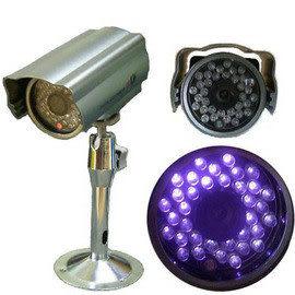 【CHICHIAU】專業級35顆LED夜視-35M- 防水彩色監視器 監視器材