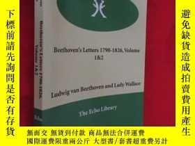 二手書博民逛書店Beethoven s罕見Letters 1790-1826,