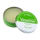 歐洲版 Vaseline 小圓罐造型護唇膏 Aloe Vera 蘆薈款 20g