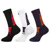 ASICS 男中筒運動襪 (慢跑 路跑 襪子 中筒襪 一雙入 亞瑟士 免運 ≡排汗專家≡