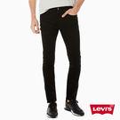 牛仔褲 男裝 / 510™ 中腰緊身窄管 / 百搭黑丹寧 / 彈性布料 - Levis