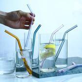 玻璃吸管環保攪拌棒飲料果汁奶茶吸管3件