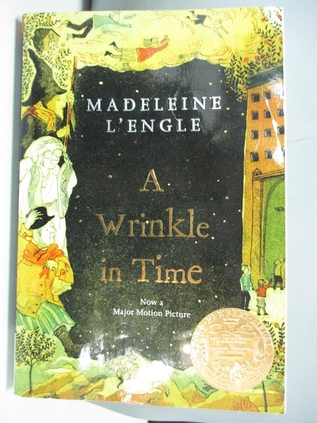 【書寶二手書T1/原文小說_ADS】A Wrinkle in Time_L'Engle