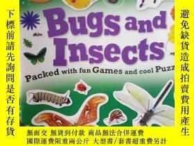 二手書博民逛書店Sticker罕見Activity Book InsectsY1