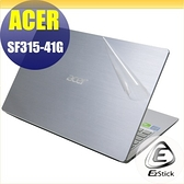 【Ezstick】ACER SF315 SF315-41G 二代透氣機身保護貼(含上蓋貼、鍵盤週圍貼、底部貼)DIY包膜