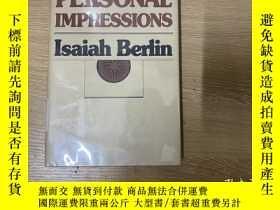 二手書博民逛書店Personal罕見Impressions 伯林《個人印象》,董橋說這是伯林最好看的一本書,英文