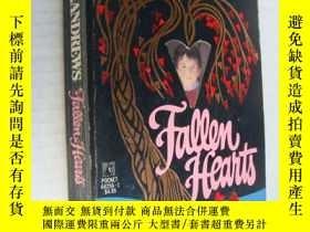 二手書博民逛書店Fallen罕見Hearts【墮落的心,V. C. 安德魯斯,英