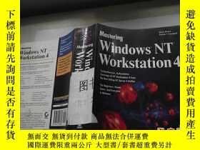 二手書博民逛書店Mastering罕見Windows NT Workstatat