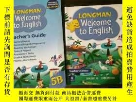 二手書博民逛書店LONGMAN罕見Welcome to English Teac