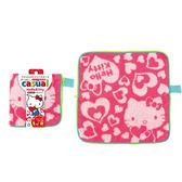 Hello Kitty Amuzinc酷比樂 日本生活用品 PORCH 可吸水毛巾袋 Kitty凱蒂貓 粉紅