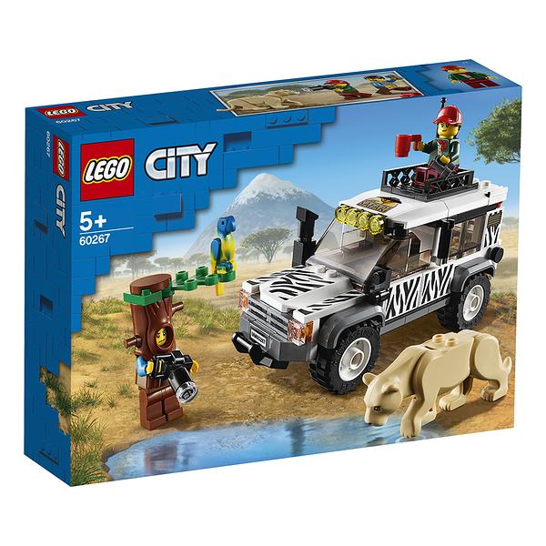 樂高積木 LEGO《 LT60267》City 城市系列 - Safari Off-Roader╭★ JOYBUS玩具百貨