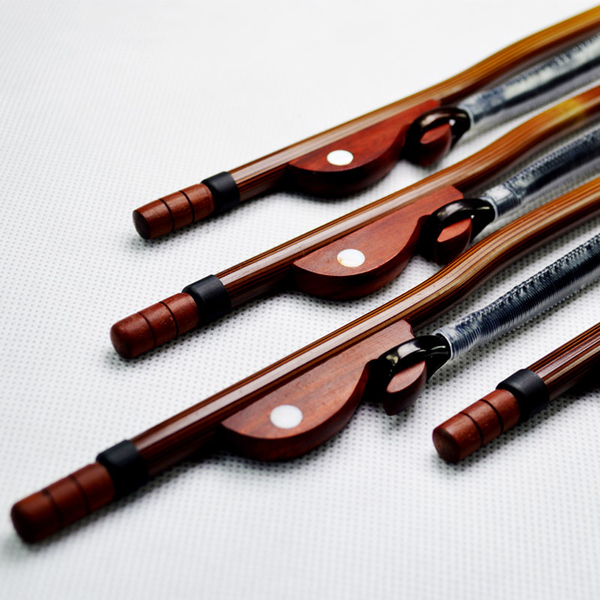 小叮噹的店 WP04346 G03 專業高檔紫檀接柄新竹紅二胡弓