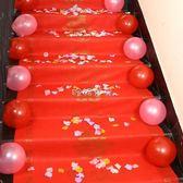 红地毯婚礼 結婚婚慶一次性大紅地毯婚禮喜宴開業慶典裝飾布置用品紅地毯套裝 珍妮寶貝