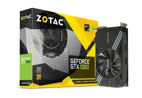 ZOTAC GeForce GTX 1060 3GB 【刷卡含稅價】