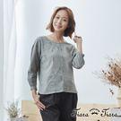 【UFUFU GIRL】100%純棉T-SHIRT,刺繡口帶點綴特色。