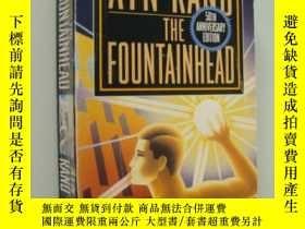 二手書博民逛書店The罕見Fountainhead(50th anniversa