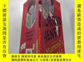 二手書博民逛書店horrid罕見henry and the mummy s curse: 可怕的亨利和木乃伊的詛咒 .Y212