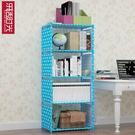 多層桌上書架床上置物架收納櫃書桌架TW【...