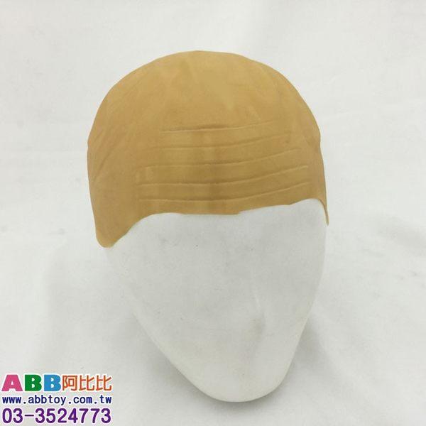 B0509★光頭皮_禿頭_光頭假髮#舞會面具面罩眼罩頭套眼鏡生日帽派對帽臉彩畫臉筆假髮髮圈髮夾